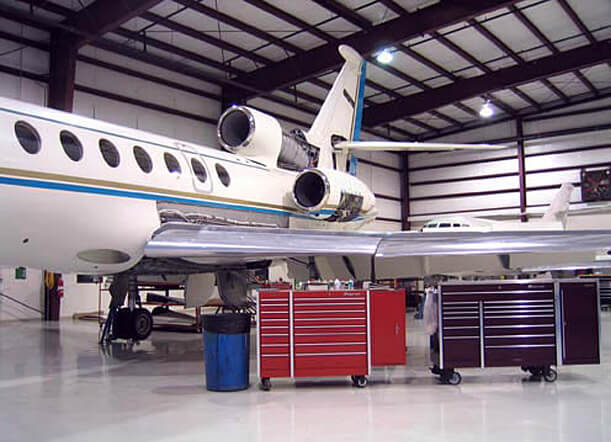 Excel Aviation - Falcon Maintenance and Repair